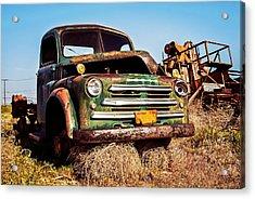 Retired Acrylic Print by Aron Kearney