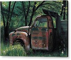 Retired Acrylic Print by John Clum