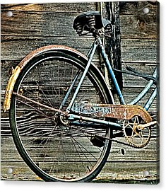 Retired Ride Acrylic Print by Marion McCristall