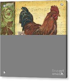 Retro Rooster 2 Acrylic Print by Debbie DeWitt