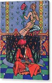 Reverie Of Ormuz The Persian Acrylic Print by John Byam Liston Shaw