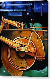 Revolutions Acrylic Print by Chris Steinken