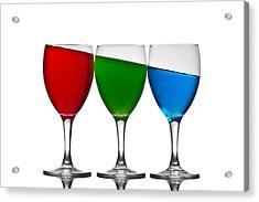 RGB Acrylic Print by Gert Lavsen