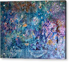Rhapsody In Blue Acrylic Print by Don  Wright