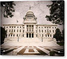 Rhode Island State House Acrylic Print by Lourry Legarde