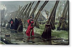 Richelieu Acrylic Print by Henri-Paul Motte