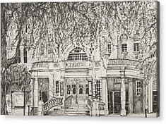 Richmond Theatre London Acrylic Print by Vincent Alexander Booth