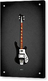 Rickenbacker 4001 1979 Acrylic Print by Mark Rogan