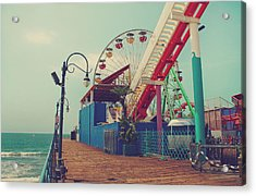 Ride It Out Acrylic Print by Laurie Search
