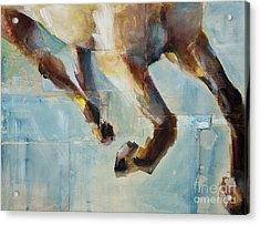 Ride Like You Stole It Acrylic Print by Frances Marino