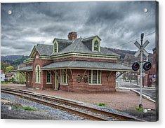 Ridgway Station Acrylic Print by Guy Whiteley