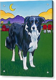 Riley Acrylic Print by Stacey Neumiller