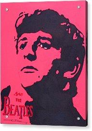 Ringo Acrylic Print by Eric Dee