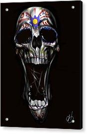 R.i.p Acrylic Print by Pete Tapang