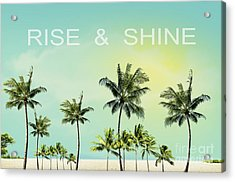 Rise And  Shine Acrylic Print by Mark Ashkenazi