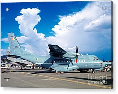 Irish Air Corps, Casa Cn-235-100m, Twin-engine Tactical Airlifter Acrylic Print by Wernher Krutein