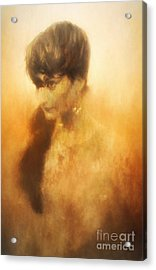 Rising From The Flames Acrylic Print by Robert Brown