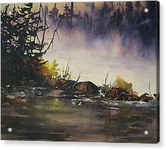 Rising Mist Acrylic Print by Madelaine Alter