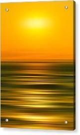 Rising Sun Acrylic Print by Az Jackson