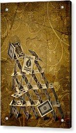 Risk Acrylic Print by Maggie Terlecki