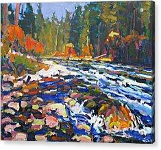 River Acrylic Print by Brian Simons