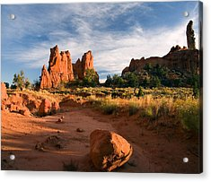 River Of Sand Acrylic Print by Mike  Dawson