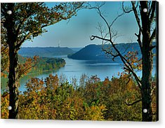 River View I Acrylic Print by Steven Ainsworth