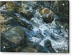 River Water Acrylic Print by Nadi Spencer