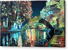 Riverwalk Acrylic Print by Baron Dixon