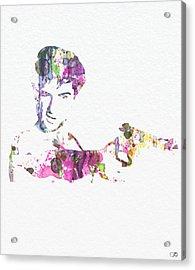 Robert De Niro Taxi Drvier Acrylic Print by Naxart Studio