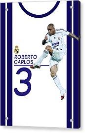 Roberto Carlos Acrylic Print by Semih Yurdabak