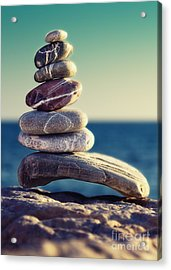 Rock Energy Acrylic Print by Stelios Kleanthous