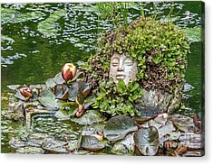 Rock Face Revisited Acrylic Print by Kate Brown