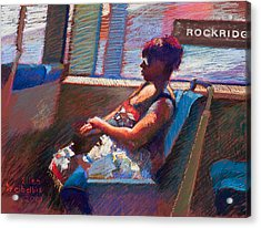 Rockridge Acrylic Print by Ellen Dreibelbis