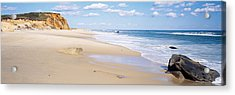 Rocks On The Beach, Lucy Vincent Beach Acrylic Print by Panoramic Images
