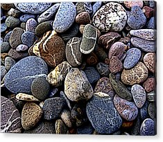 Rocks Acrylic Print by Roberto Alamino