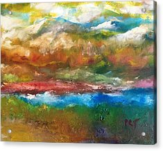 Rocky Mountain Summer Color Acrylic Print by Patricia Taylor