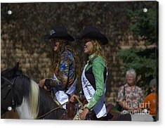 Rodeo Queens Acrylic Print by The Stone Age