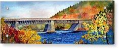 Roebling Aqueduct Bridge Acrylic Print by Paul Temple