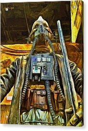 Rogue One Edrio Tubes - Da Acrylic Print by Leonardo Digenio