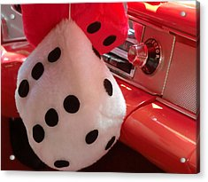 Roll Of The Dice Acrylic Print by Richard Mansfield