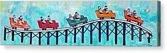 Roller Fun Acrylic Print by Patricia Arroyo