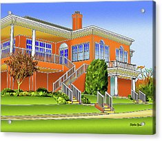 Rolling Road Golf Club Acrylic Print by Stephen Younts