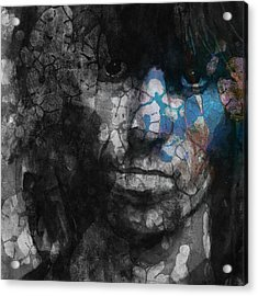 Rolling Stoned Acrylic Print by Paul Lovering