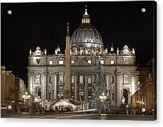 Rome Vatican Acrylic Print by Joana Kruse