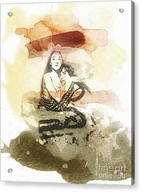 Romeo And Juliet Acrylic Print by Mo T