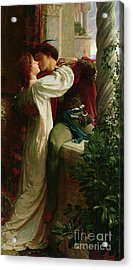 Romeo And Juliet Acrylic Print by Sir Frank Dicksee
