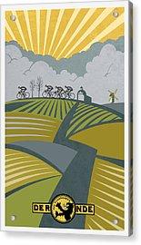 Ronder Van Vlaanderen Acrylic Print by Sassan Filsoof