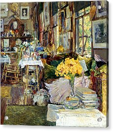 Room Of Flowers, 1894 Acrylic Print by Granger