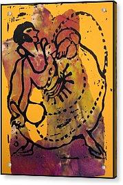 Ropedancer  Acrylic Print by Adam Kissel